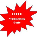 Weekends-Offer